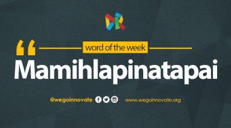 Word Of The Week - Mamihlapinatapai
